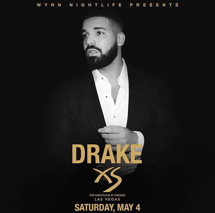 Drake at XS Las Vegas, May 4, 2019