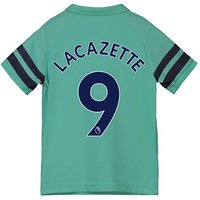 Arsenal Third Shirt 2018-19 - Kids with Lacazette 9 printing