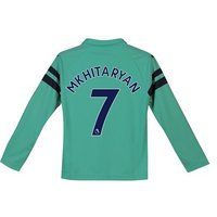 Arsenal Third Shirt 2018-19 - Kids - Long Sleeve with Mkhitaryan 7 printing