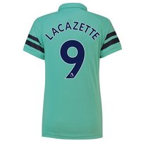 Arsenal Third Shirt 2018-19 - Womens with Lacazette 9 printing