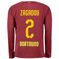BVB BVB Third Shirt 2018-19 with Zagadou 2 printing