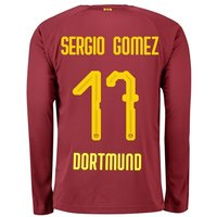 BVB BVB Third Shirt 2018-19 with Sergio Gomez 17 printing