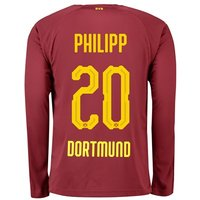 BVB BVB Third Shirt 2018-19 with Philipp 20 printing