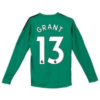 Manchester United Home Goalkeeper Shirt 2018-19 - Kids with Grant 13 printing