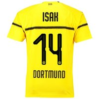 BVB Cup Home Shirt 2018-19 with Isak 14 printing
