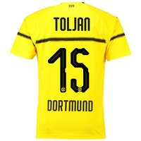 BVB Cup Home Shirt 2018-19 with Toljan 15 printing