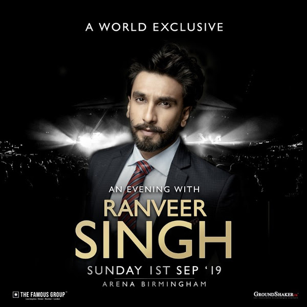 AN EVENING WITH RANVEER SINGH