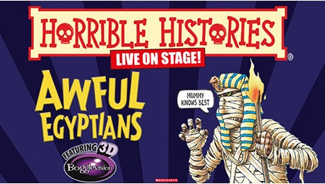 Horrible Histories - Awful Egyptians at Palace Theatre Manchester