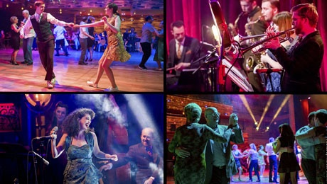 Swing That Music: Down for the Count & Swing Dance MK at Aylesbury Waterside Theatre