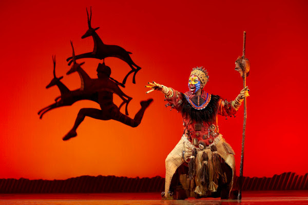 The Lion King at Edinburgh Playhouse